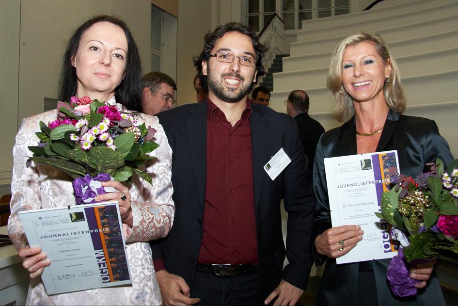 Sabine Fisch, Dr. Enrico Dall`Ara, Dr. Christine Dominkus. C Thomas Preiss