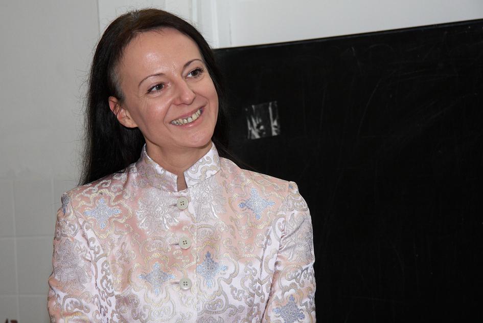 ÖGEKM Journalistenpreis 2009: Die Gewinnerinnen stehen fest - im Bild Sabine Fisch (Journalistenpreis 2009, Kategorie TV/Hörfunk)