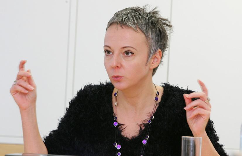 """Sabine Fisch, Moderation: """"KrebspatientInnen brauchen Rehabilitation."""" Bild: WelldoneWerbeagentur/APA-Fotoservice/Hautzinger"""