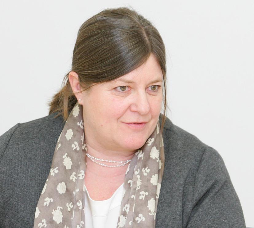"""Dr. Gabriela Neundlinger-Payer: """"Für KrebspatientInnen ist die Rückkehr an den Arbeitsplatz oft sehr schwer."""" Bild: WelldoneWerbeagentur/APA-Fotoservice/Hautzinger"""