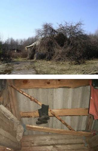 Mehr als 2.000 Städte und Dörfer rund um das zerstörte Atomkraftwerk Chernobyl sind heute immer noch zerstört und unbewohnbar. Foto: Elena Filatowa